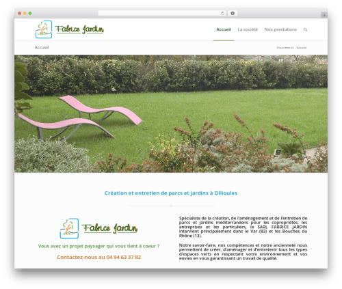 WordPress theme Enfold - fabrice-jardin.fr