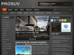 WordPress theme ProSUV