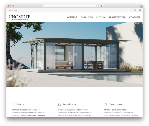 WordPress theme Unicon - unosider.com