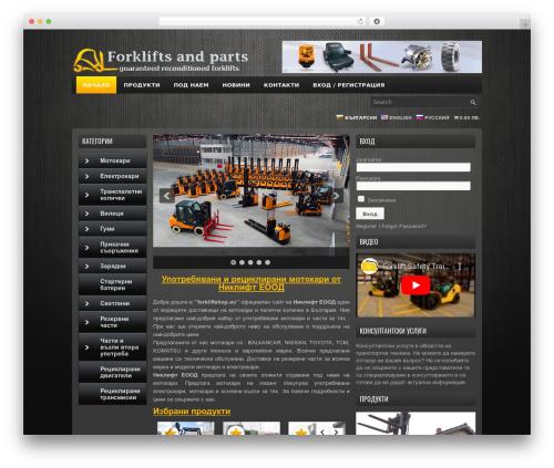 WP template ProSUV - forkliftshop.eu