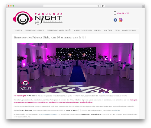 WP template Stay - fabulousnight.fr