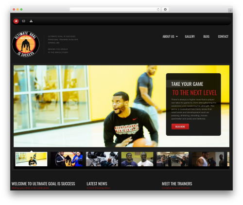 WP theme cherry - ugisathletics.com