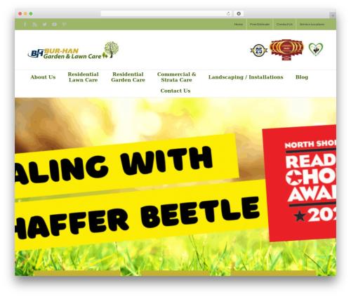 Avada garden WordPress theme - bur-han.ca