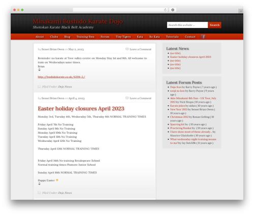 Free WordPress WP Mailto Links – Manage Email Links plugin - bushidokarate.co.uk