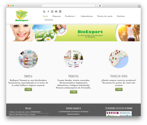 Customizr WordPress free download - bioexportpanama.com