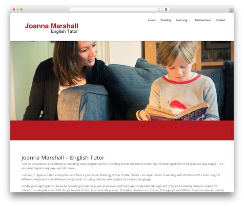 Divi theme WordPress - bathtutor.co.uk
