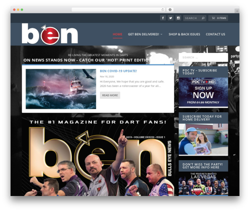 Extra WordPress magazine theme - bullseyenews.com