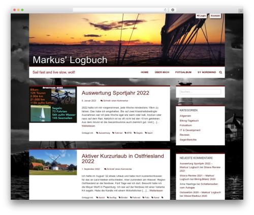 Levii top WordPress theme - buscher.de
