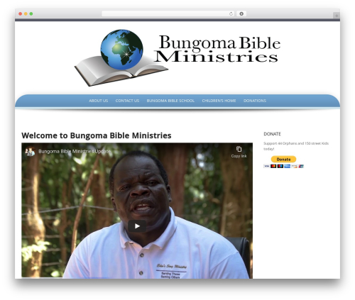 Preferential Lite WordPress theme - bungomabibleministries.org