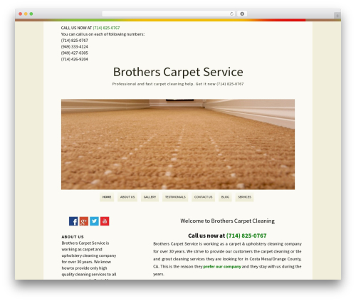 Rockers best free WordPress theme - brothers-service.com