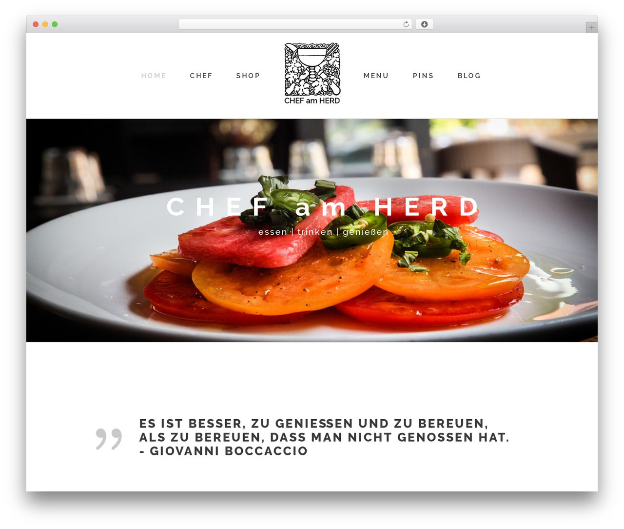 Stockholm WordPress page template - buybestreview.com