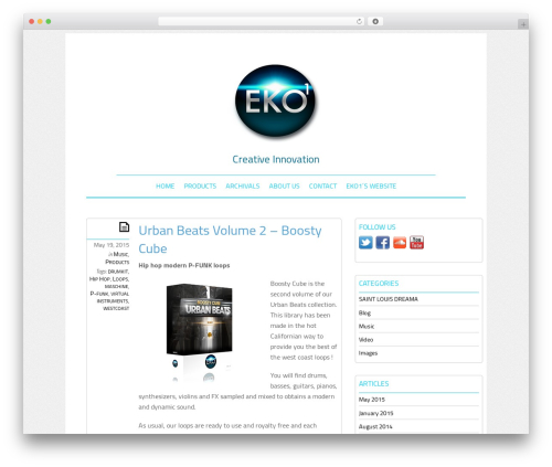 Theme WordPress Elemin - blog.eko1.net