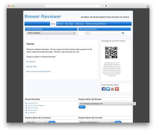 Theme WordPress Suffu-scion - brewerreviewer.com