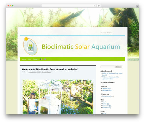 Twenty Ten free website theme - bioclimaticsolaraquarium.com
