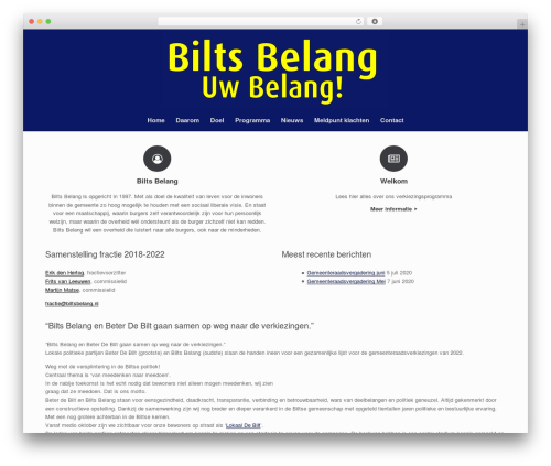 WordPress oh-youtube-in-lightbox plugin - biltsbelang.nl
