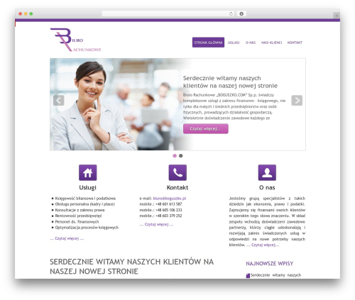 WP template Small Business - boguszko.com