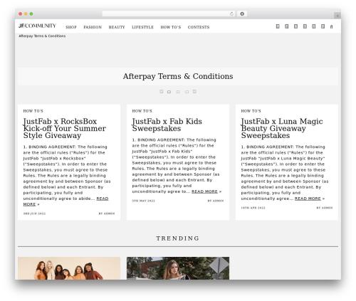 Free WordPress WP Hide Post plugin - blog.justfab.com