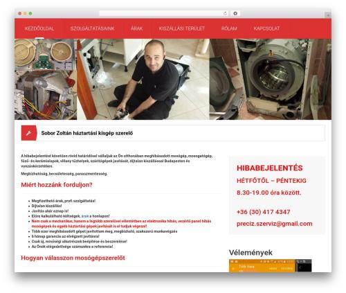 Mechanic WordPress theme - bpmosogepszerelo.com