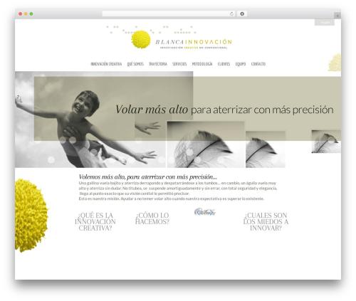 Quare premium WordPress theme - blancainnovacion.com