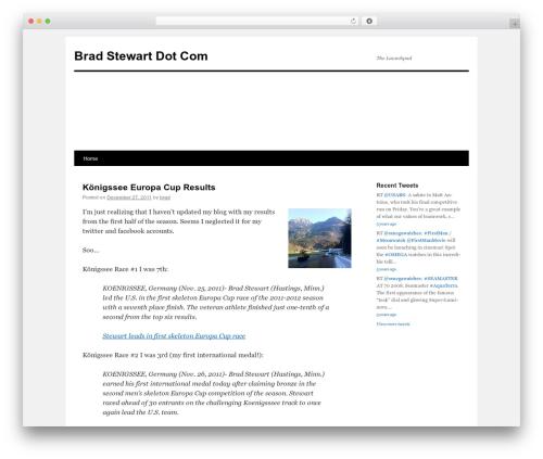 Free WordPress Retweet Anywhere plugin - bradstewart.com