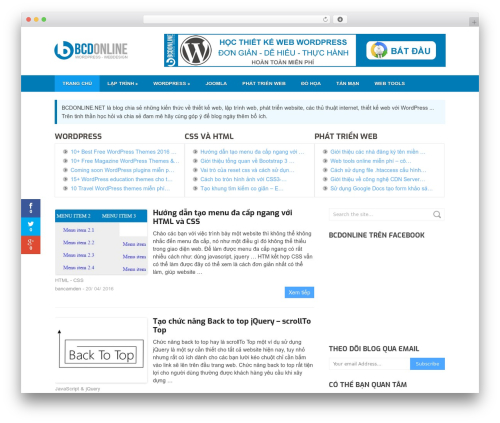 WordPress theme Split - bcdonline.net