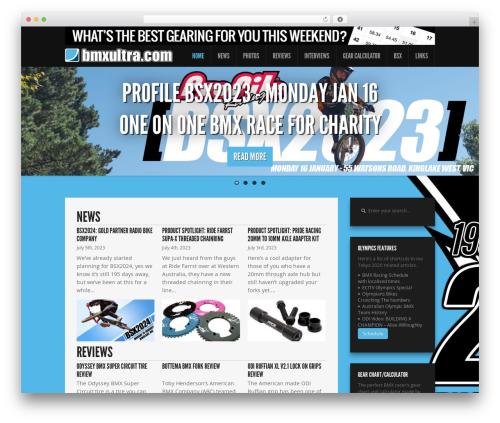 Feather best WordPress magazine theme - bmxultra.com