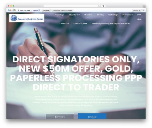 Free WordPress Illdy Companion plugin - bayareabusinesscenter.com
