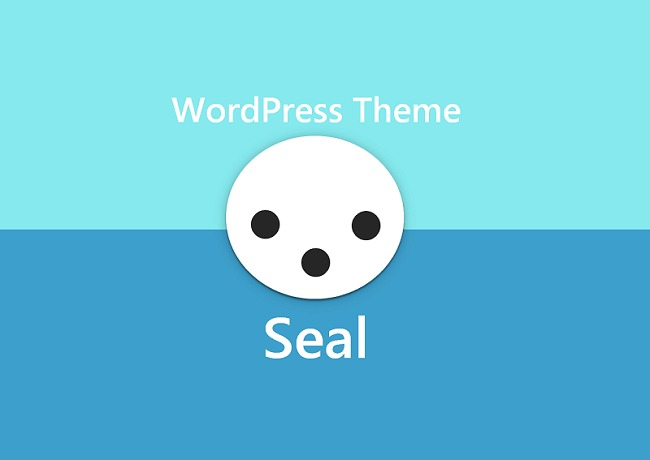 seal WordPress theme