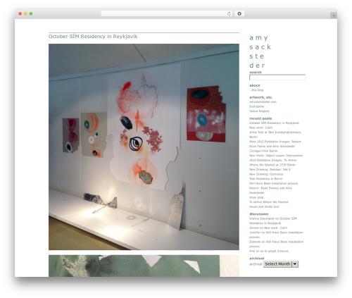 Theme WordPress Headless - blog.amysacksteder.com