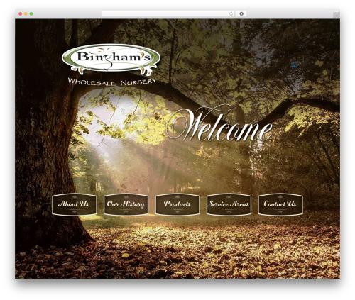 Betheme WordPress theme - binghamwholesalenursery.com