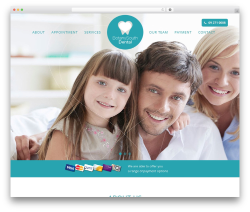 Bridge WordPress theme - botanysouthdental.co.nz