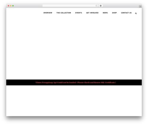 Capri WordPress theme design - botart.org