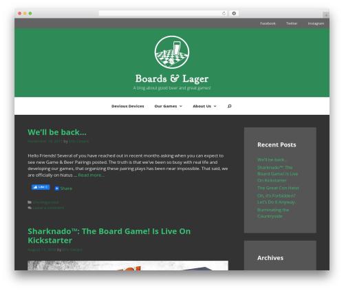 GeneratePress free WP theme - boardsandlager.com