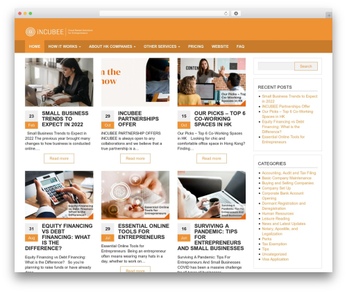 Giga Store WordPress template free download - blog.lccs.com.hk