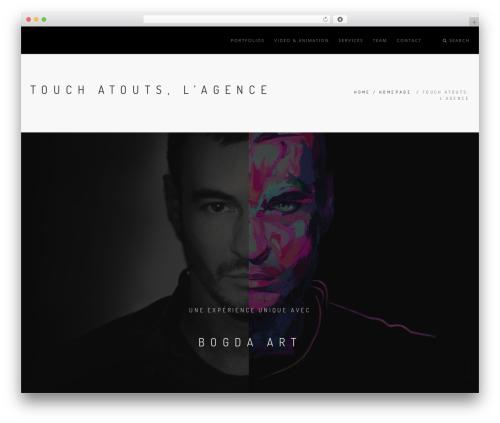 Rhythm Wordpress Theme WordPress theme - bogda-art.com