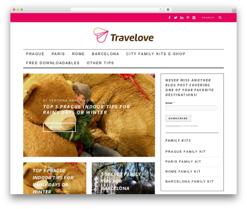 SimpleMag WordPress travel theme - blog.mytravelove.com/en