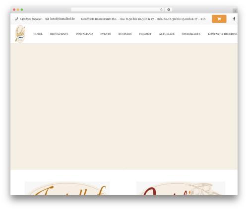 Template WordPress Impreza Child - inntalhof.de