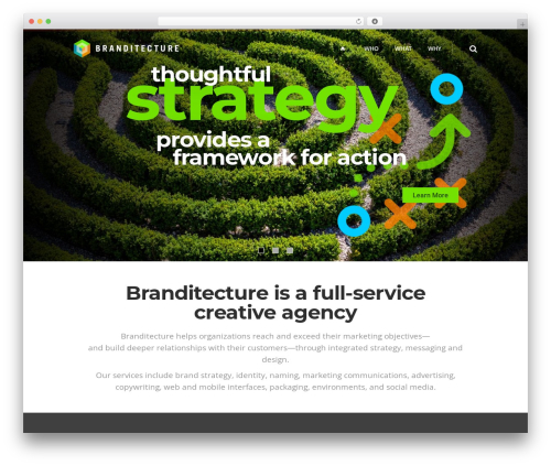 Theme WordPress Pitch - branditecture.com
