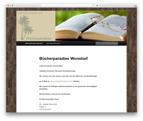 Twenty Eleven template WordPress free - buecherparadies-wunstorf.de