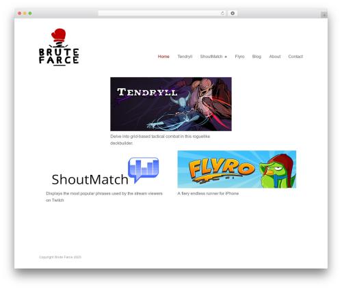 WordPress theme Puro Premium - brutefarce.net