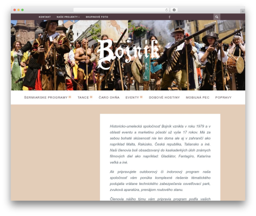 WordPress website template ST Squirrel - bojnik.sk