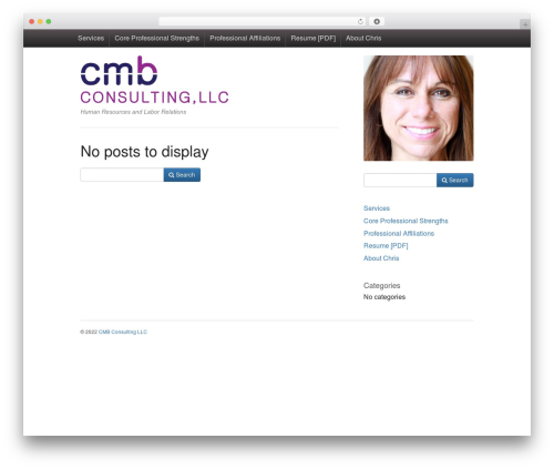 Activetab WordPress template free - bonanducci.com