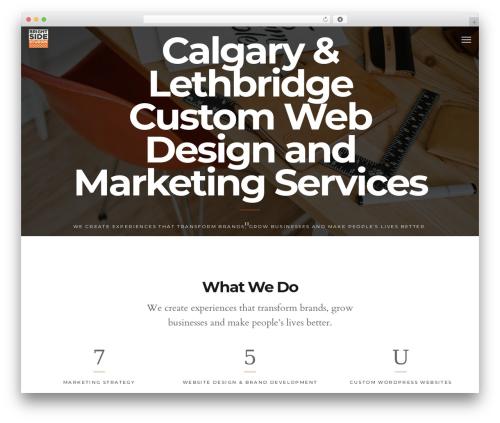 Maven best WordPress theme - brightsidestudios.ca