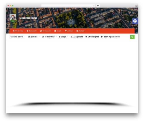 Pressville theme WordPress - bjelovar.hr