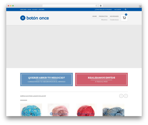 The Retailer theme WordPress - botononce.com.ar