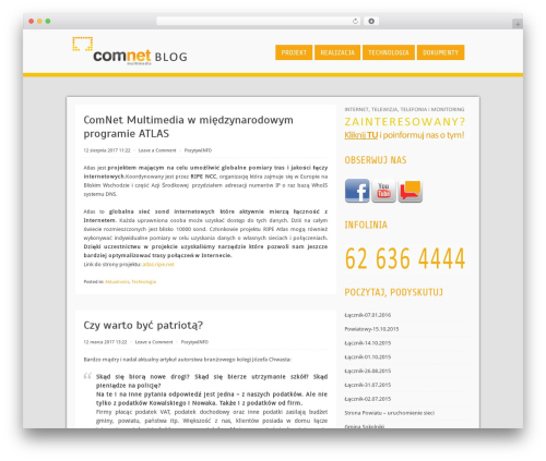 Cell business WordPress theme - blog.cnmultimedia.pl