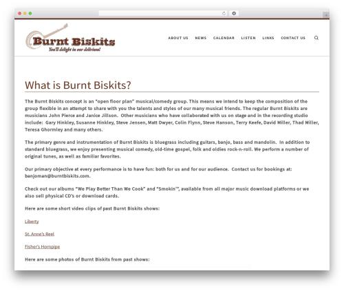 Free WordPress My Quicktags plugin - burntbiskits.com