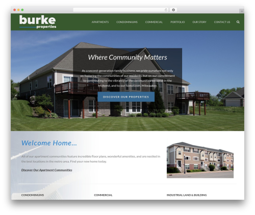 WordPress popup-press plugin - burkeproperties.com