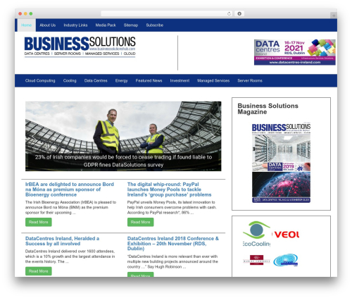 Lab Responsive Bootstrap company WordPress theme - businesssolutionshub.com