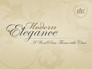 Modern Elegance Wordpress Theme personal blog WordPress theme